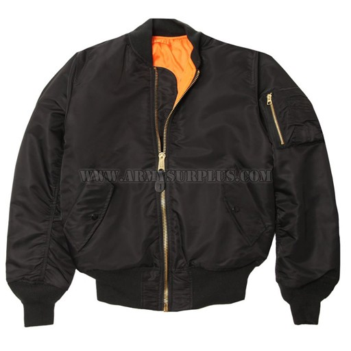 ALPHA INDUSTRIES INC. Jacket - Flight - MA1 - Nylon [Alpha]