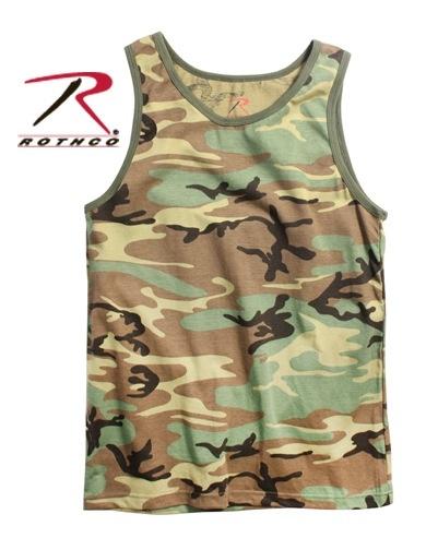 ROTHCO Rothco, Tank Top, Woodland
