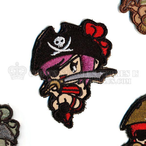 MIL-SPEC MONKEY Mil-Spec Monkey, Pirate Girl Patch