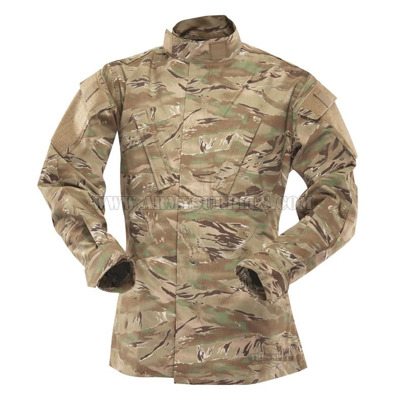 TRU-SPEC TRU-SPEC, Tactical Response Uniform (TRU) Shirt, All Terrain Tiger Stripe