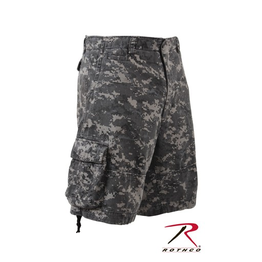 ROTHCO Rothco, Vintage Camo Infantry Utility Shorts, Subdued Urban Digital