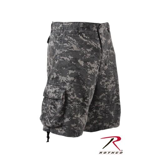 ROTHCO Rothco, Vintage Camo Infantry Utility Shorts, Subdued Urban Digital