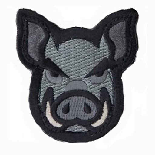 MIL-SPEC MONKEY Mil-Spec Monkey, Pig Head, Velcro