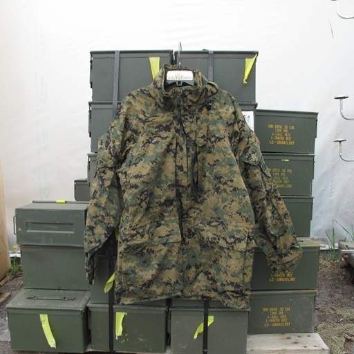 GENUINE SURPLUS Parka - Goretex - Marpat - Woodland - All Purpose Environment - USMC- NEW
