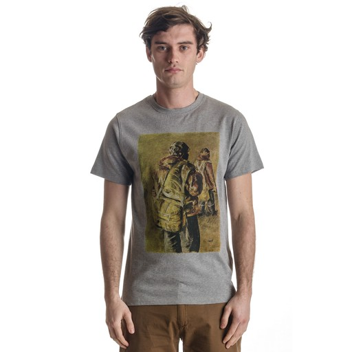 REALM & EMPIRE Realm & Empire, Test Pilots Tee, Grey Marl