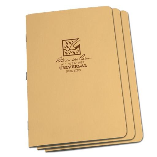 RITE IN THE RAIN Rite in the Rain, Universal Pattern Stapled Notebook