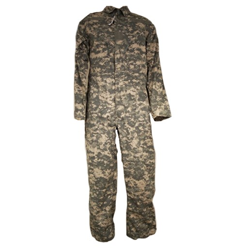 GENUINE SURPLUS Coverall, US Issue Mechanic's, Nylon/Cotton, ACU