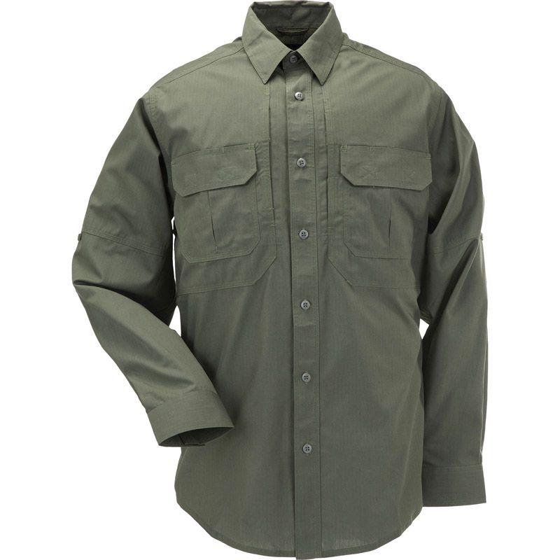 5.11 TACTICAL 5.11 Tactical, Taclite Pro Long Sleeve Shirt, TDU Green