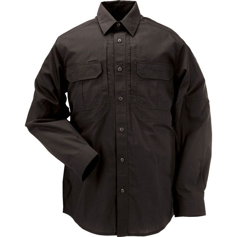5.11 TACTICAL 5.11 Tactical, Taclite Pro Long Sleeve Shirt, Black