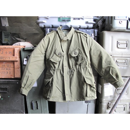 GENUINE SURPLUS Canadian Forces Issue, 3-Season Combat jacket, Olive Green w/ Liner, New