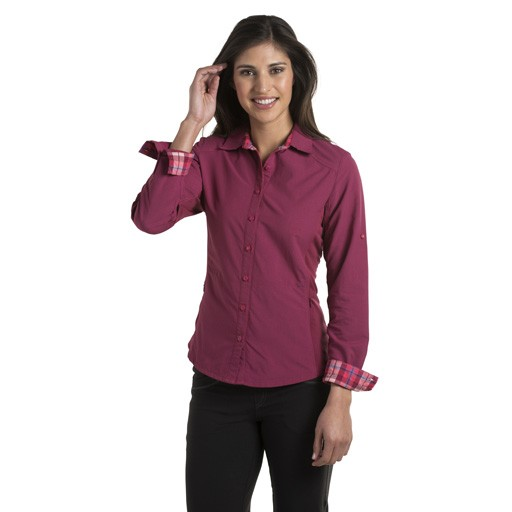 KUHL Kuhl, Women's Wunderer Long Sleeve Shirt