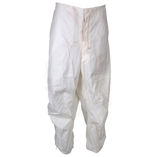 GENUINE SURPLUS Trousers, Snow, Camouflage: White, US Issue, New