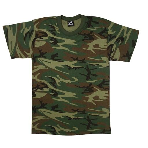 ROTHCO Rothco, Woodland T-Shirt, U.S. Made
