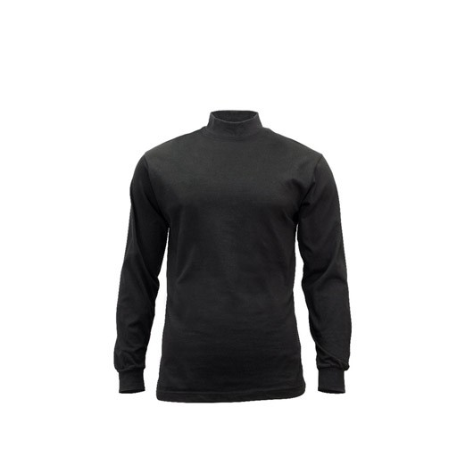 ROTHCO Rothco Mock Turtleneck, Black