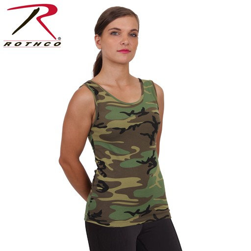 ROTHCO Rothco, Women's Camo Stretch Tank Top