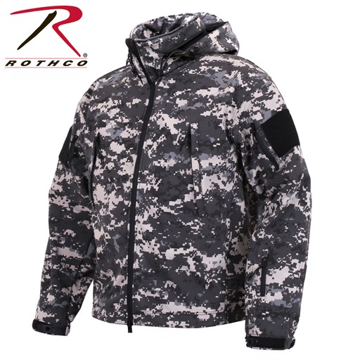 ROTHCO Rothco Special Ops Tactical Soft Shell Jacket, Urban Digital Camo