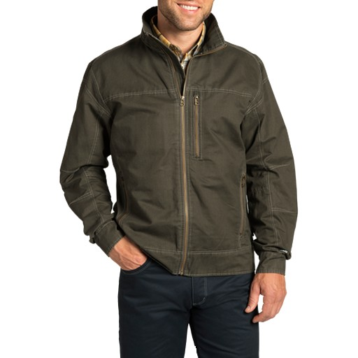 KUHL Kuhl, Men's Burr Jacket, Gun Metal