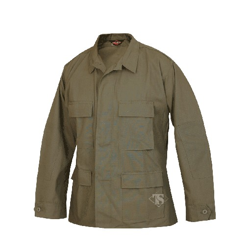 TRU-SPEC Tru Spec, BDU Coat, Olive Darb, 100% Cotton