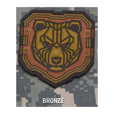 MIL-SPEC MONKEY Mil-Spec Monkey, Industrial Bear PVC Patch