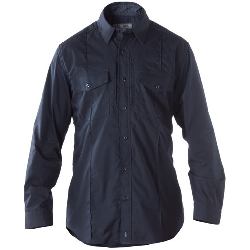 5.11 TACTICAL 5.11 Tactical, Stryke Class-B PDU Long Sleeve Shirt, Midnight Navy