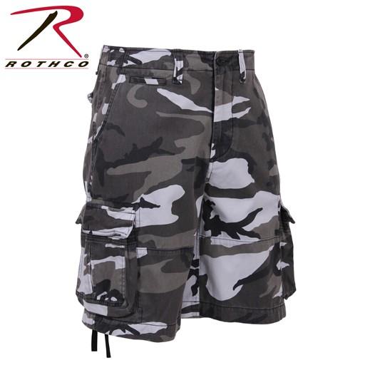 ROTHCO Rothco, Vintage City Camo Infantry Utility Shorts