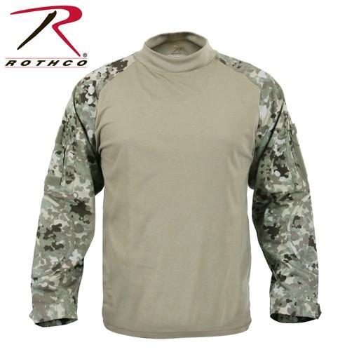 ROTHCO Rothc Military FR NYCO, Combat Shirt, Total Terrain