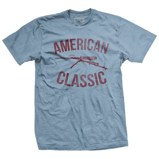 RANGER UP Ranger Up, American Classic, Ultra-Thin Vintage T-Shirt