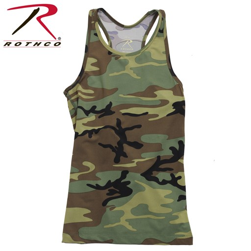 ROTHCO Rothco, Women's Performance Tank Top, Woodland Camo