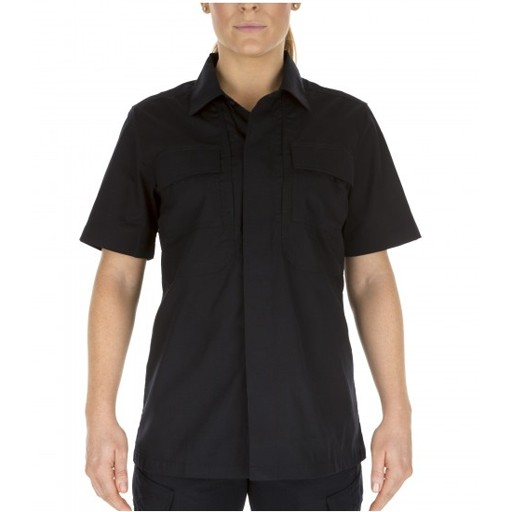5.11 TACTICAL 5.11 Tactical, Women's SS Taclite TDU Shirt, Dark Navy