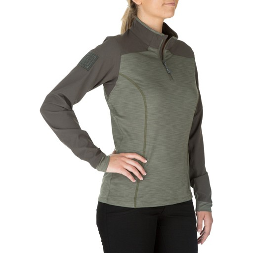 5.11 TACTICAL 5.11 Tactical, Women's Rapid Response Quarter Zip Sweater