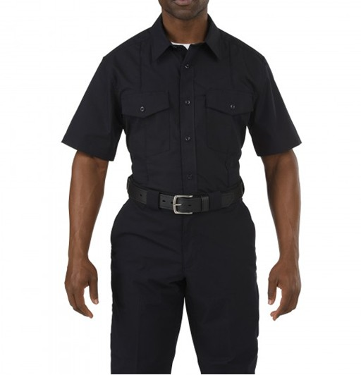 5.11 TACTICAL 5.11 Tactical, Stryke Class-B PDU Short Sleeve Shirt, Midnight Navy