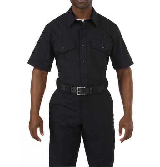 5.11 TACTICAL 5.11 Tactical, Stryke Class-B PDU Short Sleeve Shirt, Midnight Navy