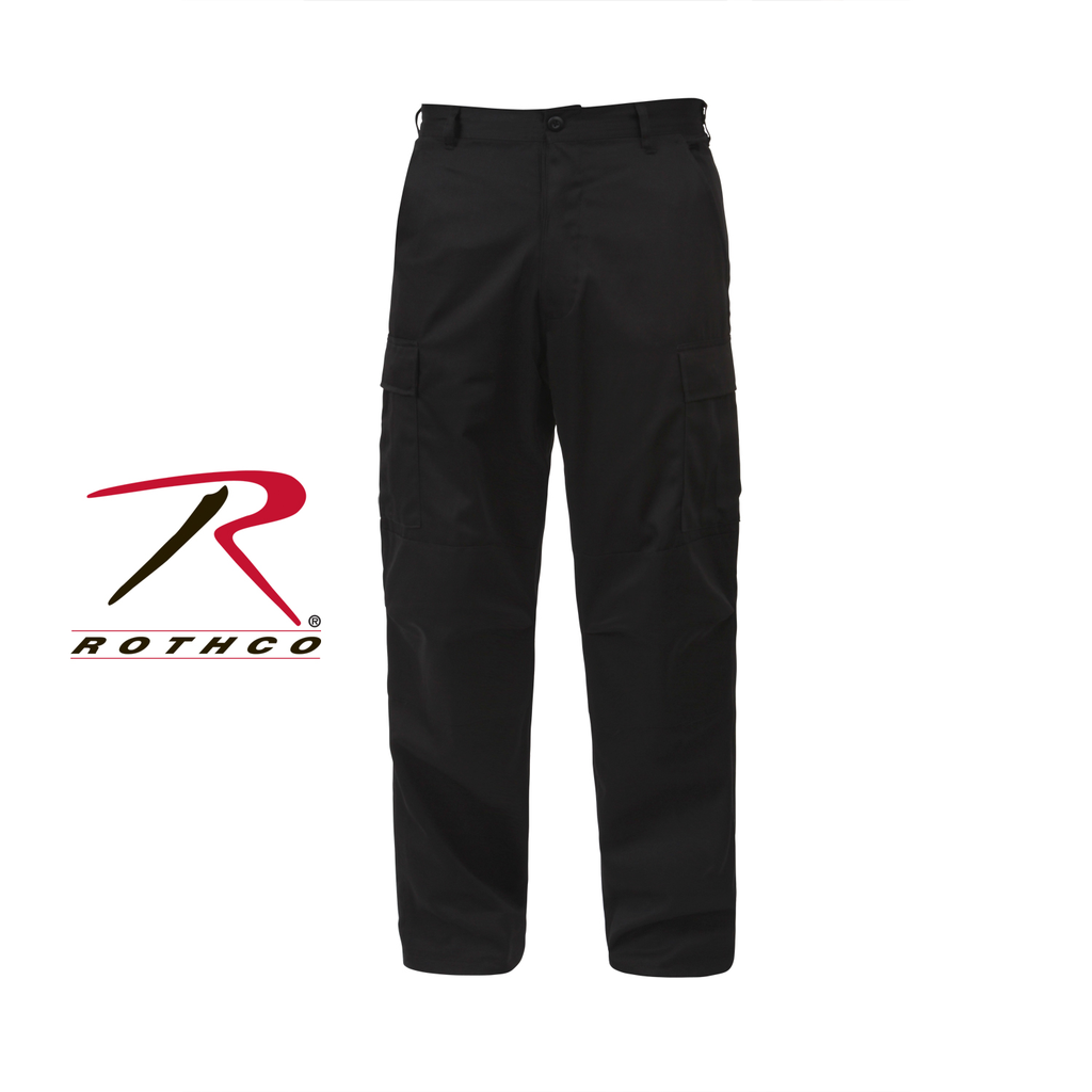 ROTHCO Tactical BDU, Pant, Black