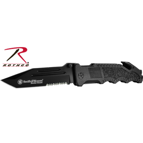 ROTHCO Smith & Wesson Border Guard Rescue Knife