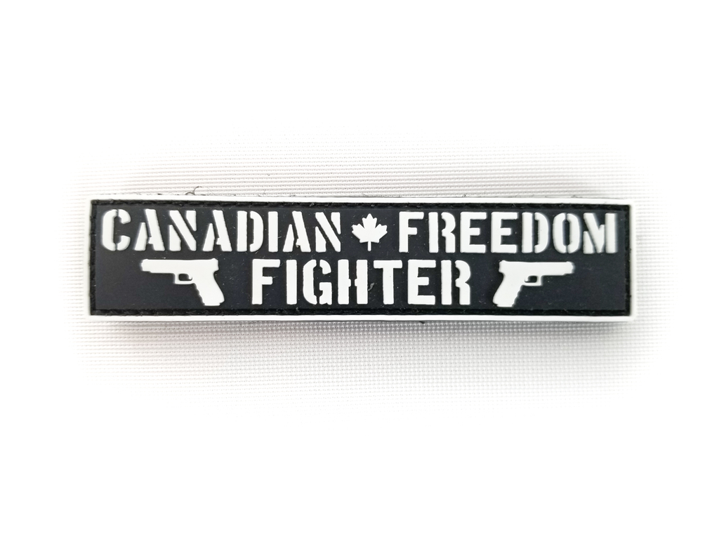 """Freedom Fighter Patch 1""""x4"""""""