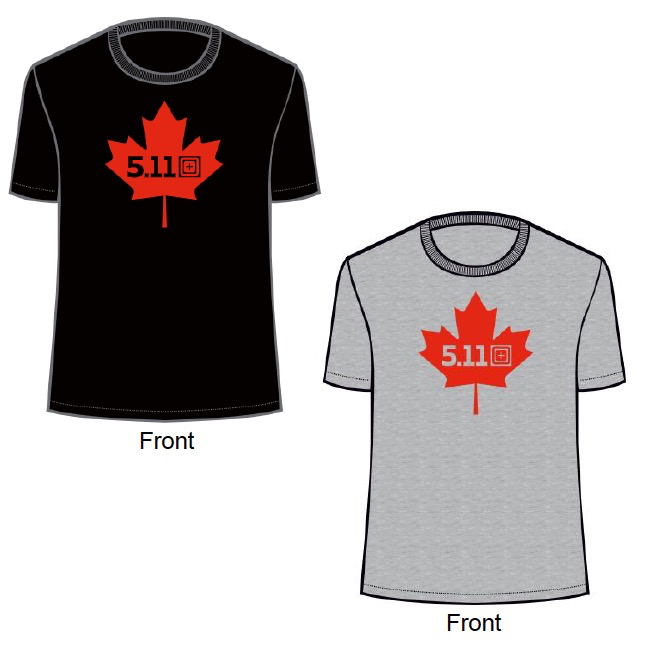 5.11 TACTICAL Canada Maple Leaf Legacy Tee
