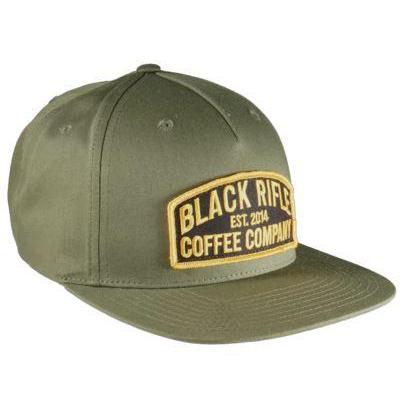 BLACK RIFLE COFFEE Keystone SnapBack Hat, Army Olive