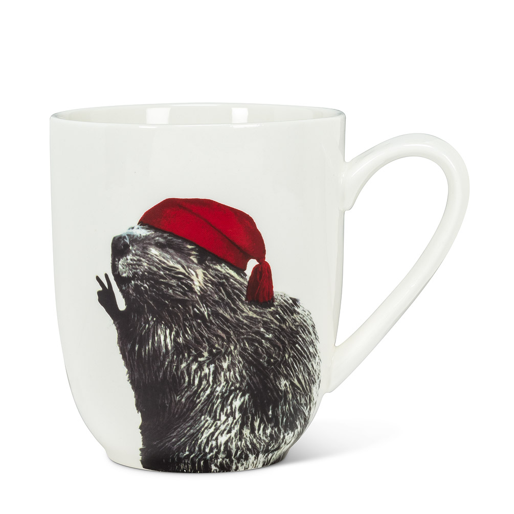 Abbott Mug, Voyageur Beaver, 16oz