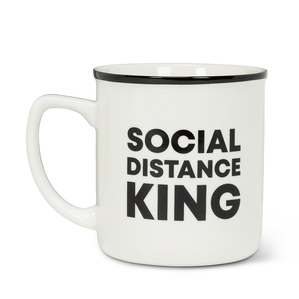 Abbott Social Distance King Mug, 16oz