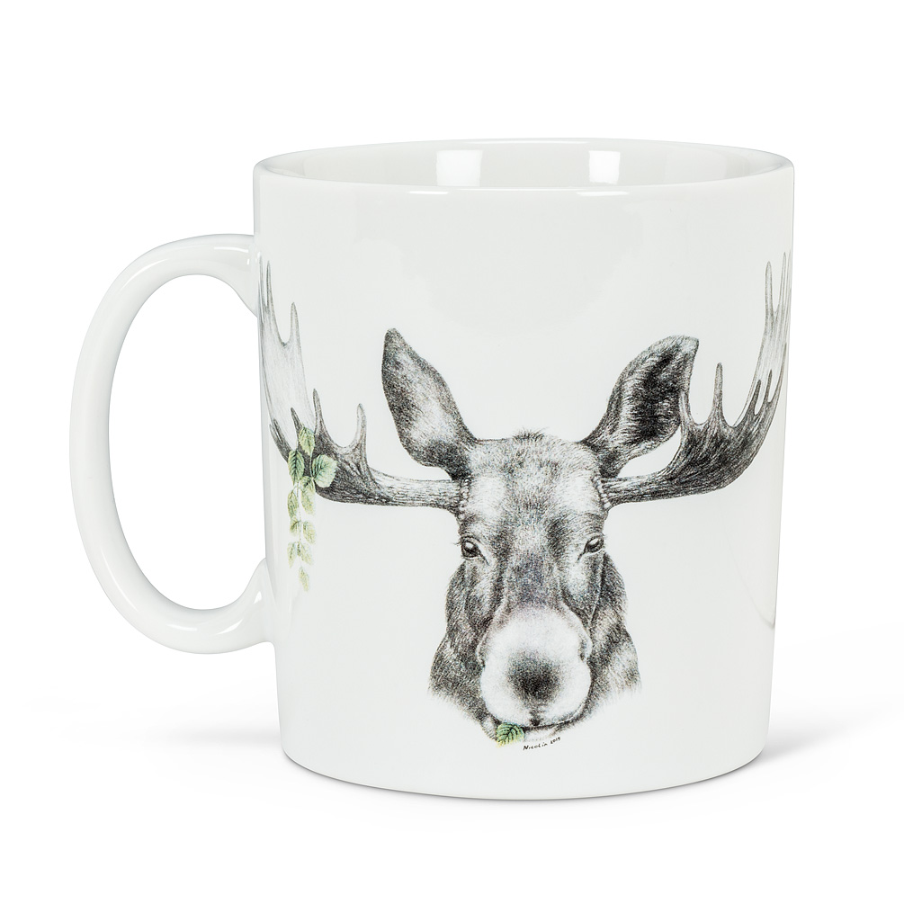 Abbott Forest Prince Moose Jumbo Mug
