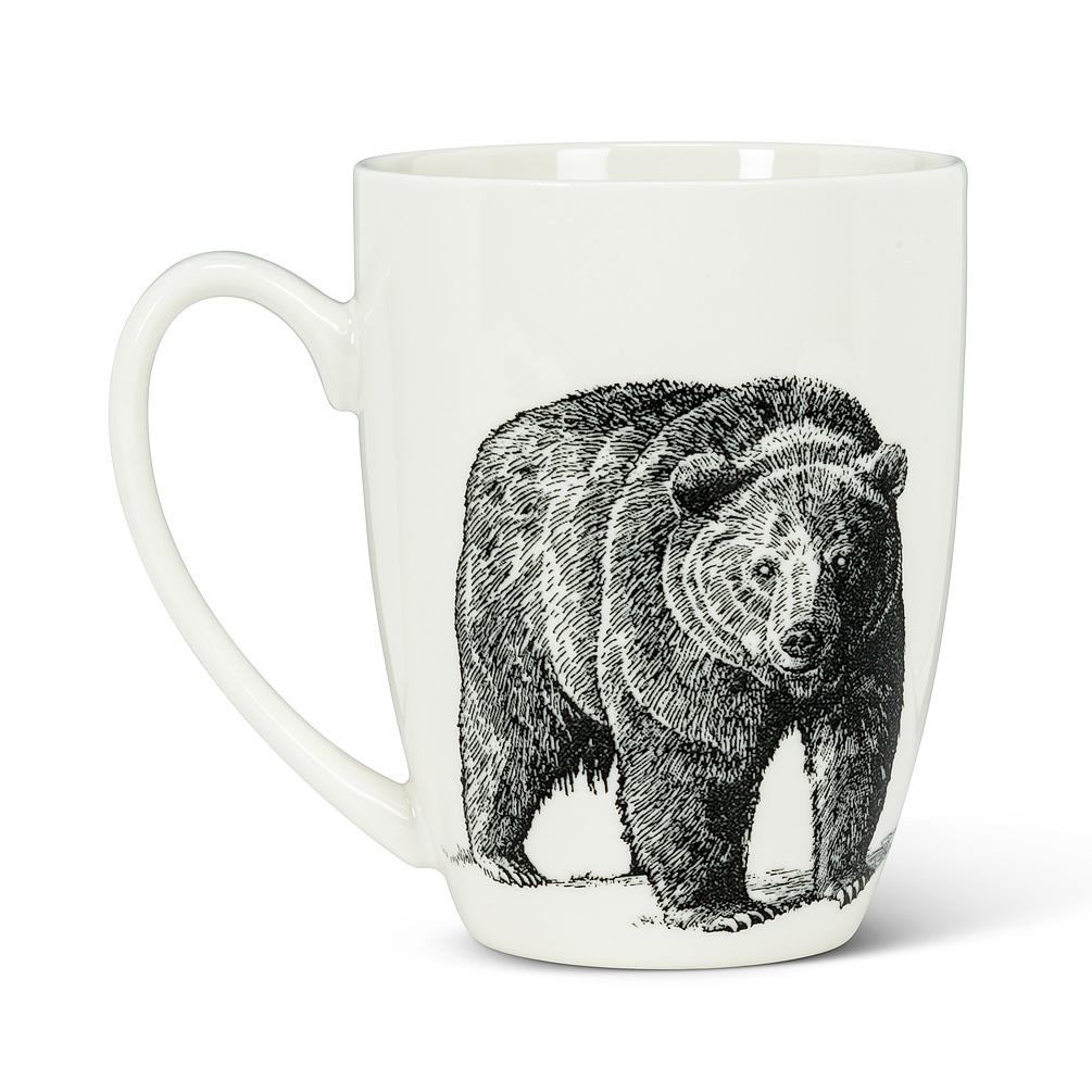 Abbott Pen & Ink Bear Mug
