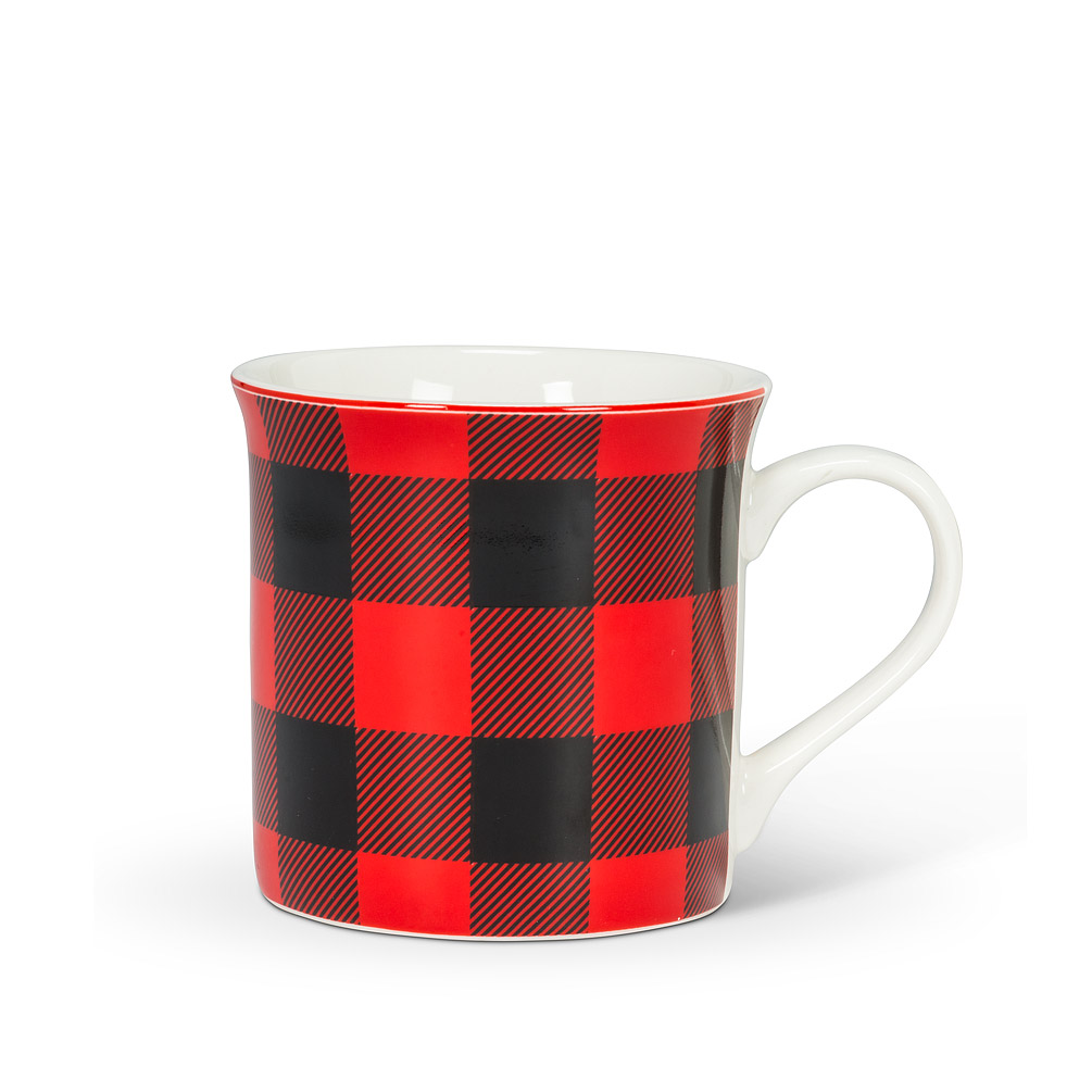 Abbott Check Mug