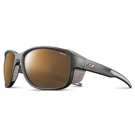 JULBO Montebianco 2 Sunglasses, Dark Blue/ Brown, Spectron r Lens