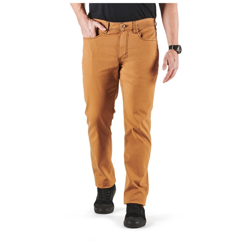 5.11 TACTICAL Defender-Flex Range Pant Slim, Duck Brown