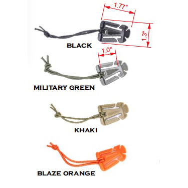 Molle Attached Shock Cord Hold Downs