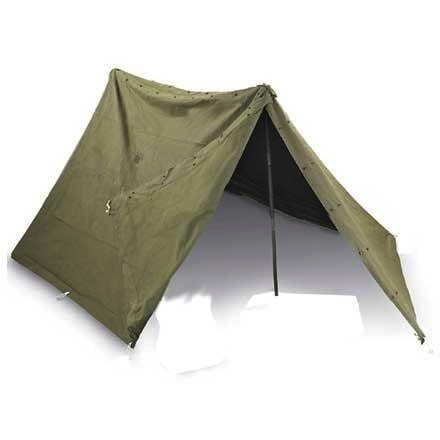 GENUINE SURPLUS Tent - Pup 2-Man - Canvas - US Issue - Brand New - Never Issued