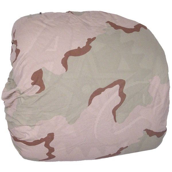 GENUINE SURPLUS Packcover, 3-Colour Desert, Issued, Makes a great spare tire cover for off road vehicals.