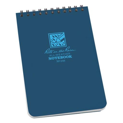RITE IN THE RAIN Rite in the Rain, Universal Polydura Notebook, 4'' x 6'', Blue