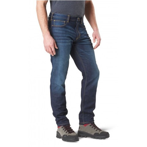 5.11 TACTICAL 5.11 Tactical, Defender-Flex Slim Jean, Dark Wash Indigo