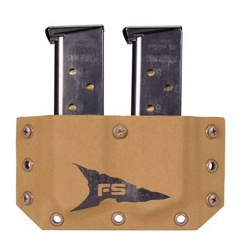 FIRSTSPEAR FirstSpear, SSV Belt Mounted Double Magazine Pocket, Right Handed